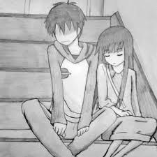 Cute anime couple by sofitrp on deviantart cute anime couple by sofitrp altavistaventures Choice Image