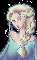 Queen Elsa by lucky-fox-7