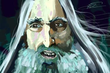 Saruman by taitsujin