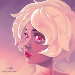 Pink Diamond - Steven Universe by taitsujin