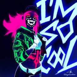 Akali KDA - I'm so cool! by taitsujin