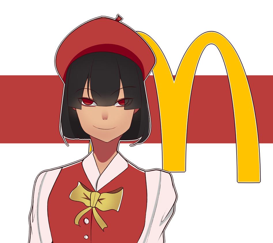 Mcdonalds-chan by Moushymoushamoomoo