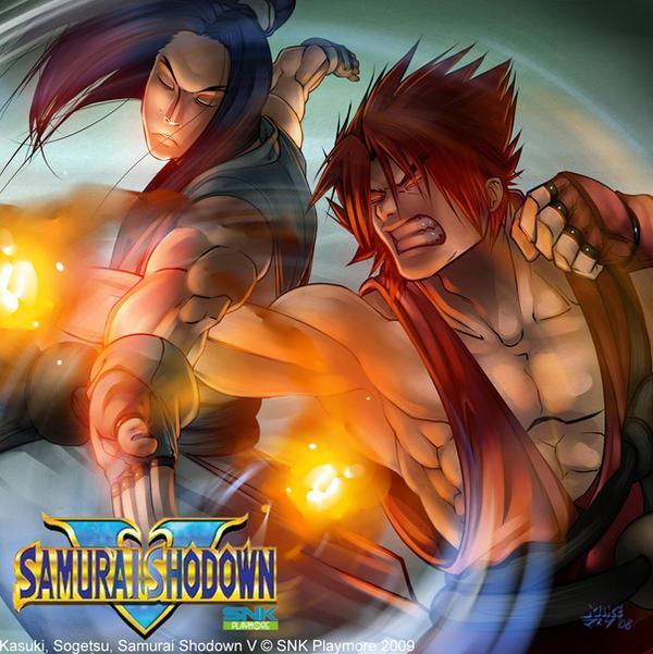 SNK - Kazama Ninja Arts by vashperado