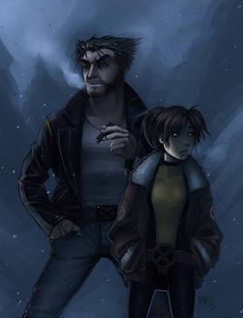 Logan and Kitty
