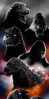 Godzilla Kong History