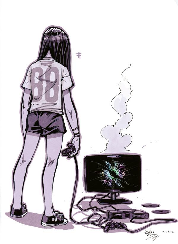 scary video games by vashperado