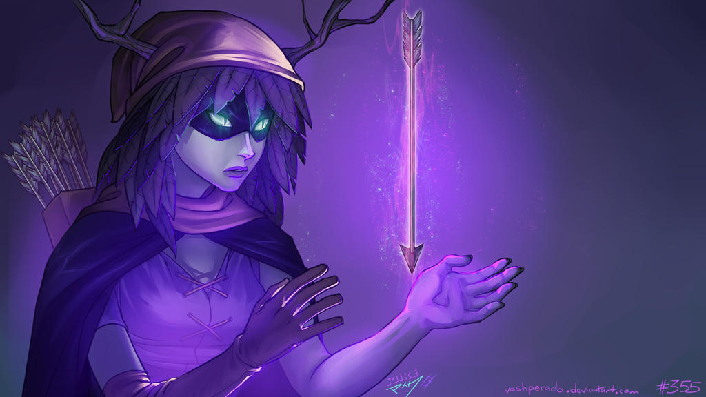 Huntress Wizard by vashperado