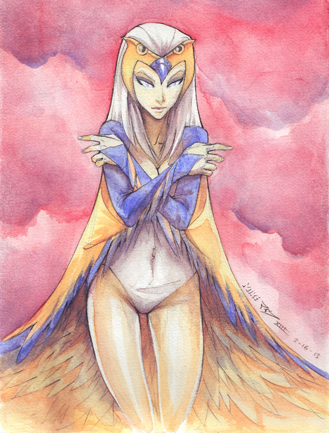 The Sorceress of Greyskull by vashperado