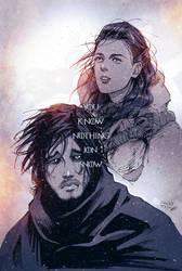 You Know Nothing, Jon Snow by vashperado
