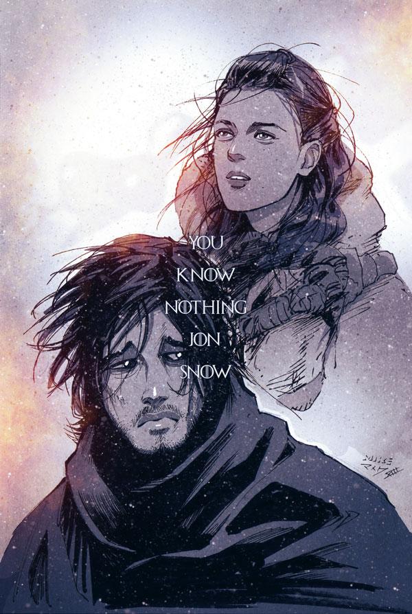 You Know Nothing Jon Snow By Vashperado