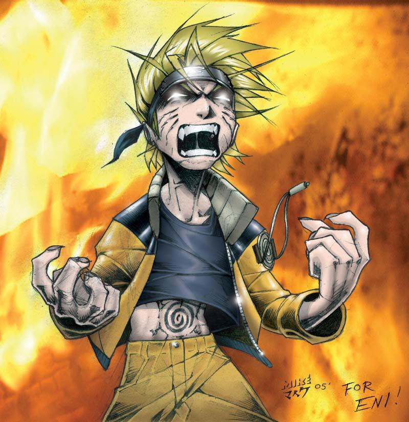 Naruto Abarekuruu By Vashperado On Deviantart