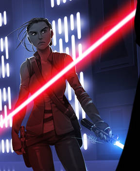 The Force is with her...