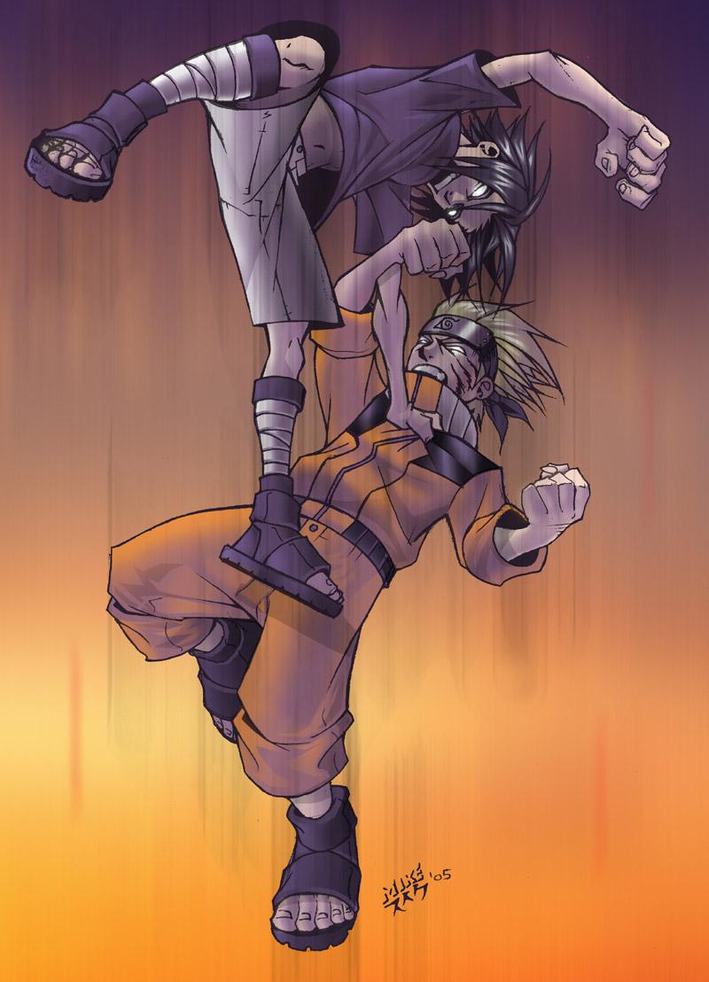 Naruto vs. Sasuke - Ryouko