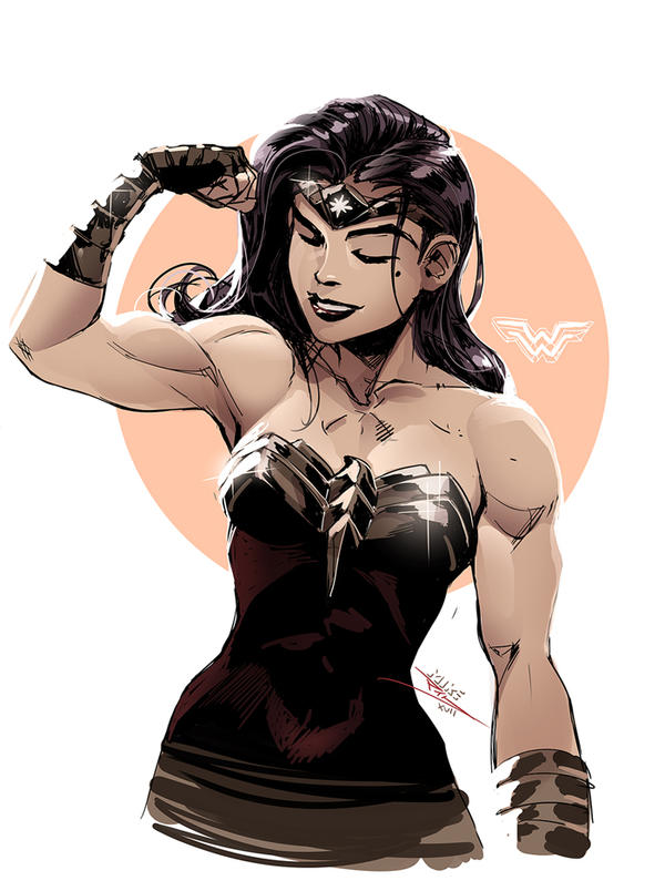 Mature Wonder Woman 20