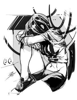 88 stress doodle