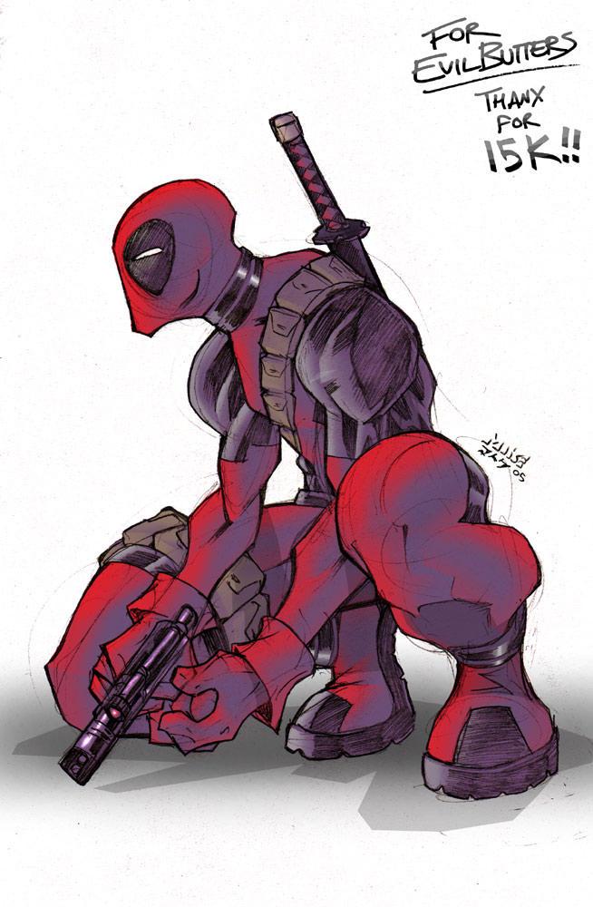 Deadpool - 15K by vashperado