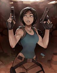 Lara Croft by vashperado