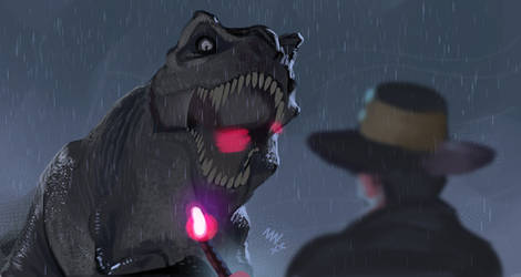 Rexy and Grant