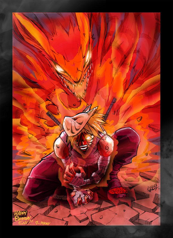Naruto - Kyuubi No Yoko by vashperado