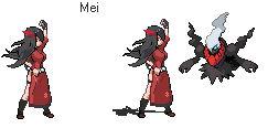Mei - Custom Trainer Sprite