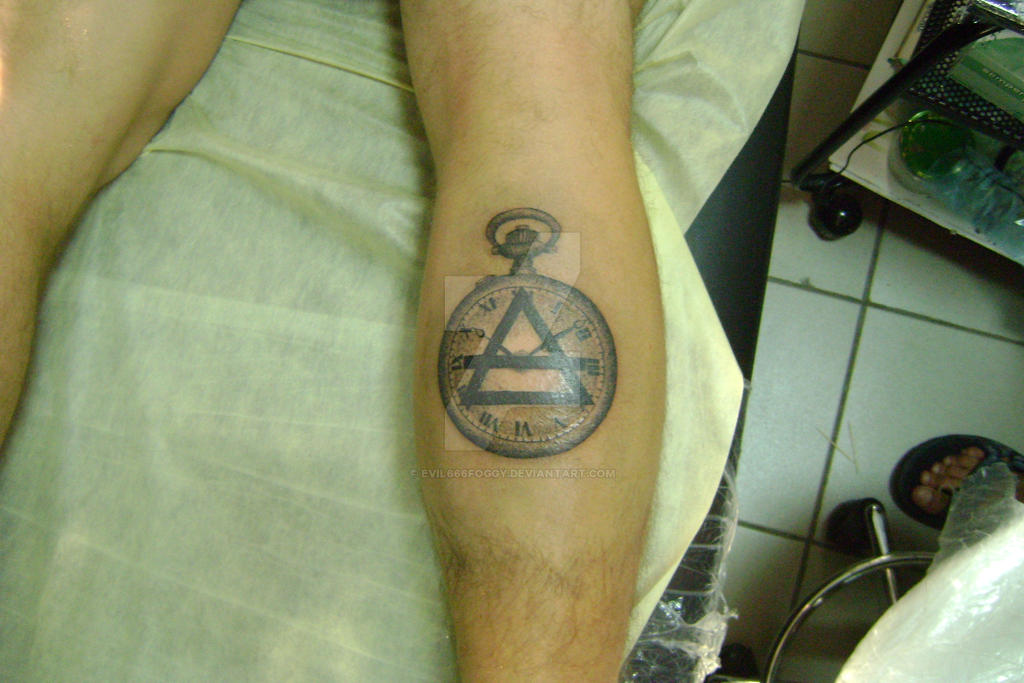Saba tattoo 2013 by evil666foggy