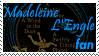 Madeleine L'Engle Stamp by RensKnight