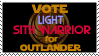 (SWTOR) Vote Light Sith Warrior for Outlander by RensKnight