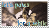 Let's Paws for a While Stamp by RensKnight