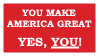 You ARE Part of America's Greatness