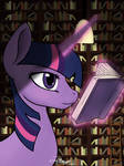 Night time reading by tobizgirl