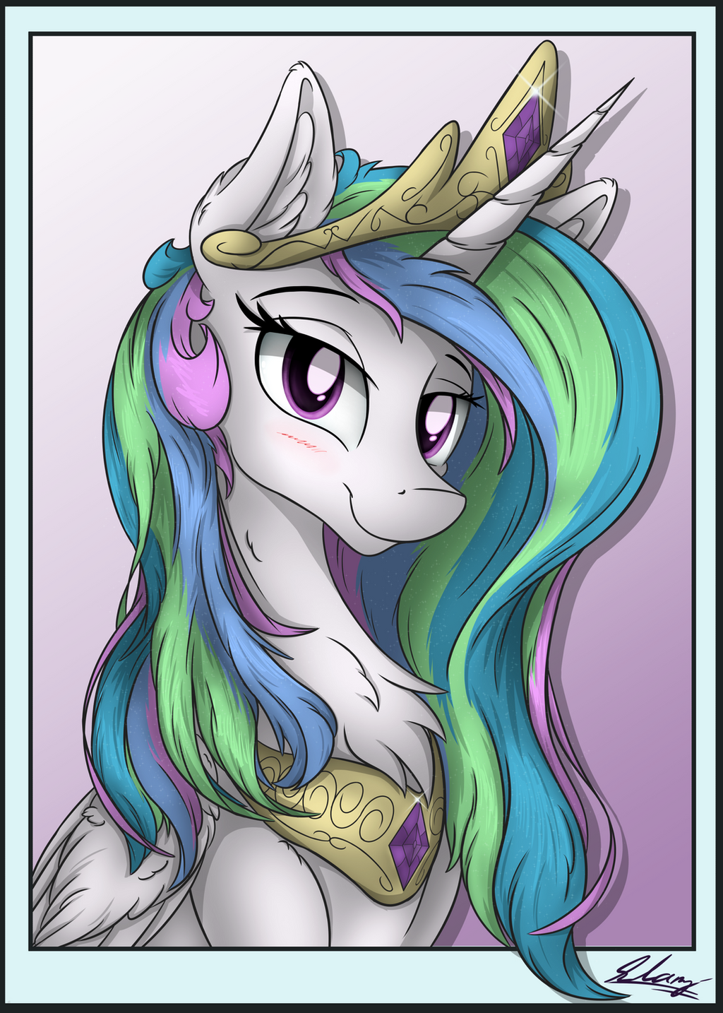 Celestia (Portrait) by Check3256