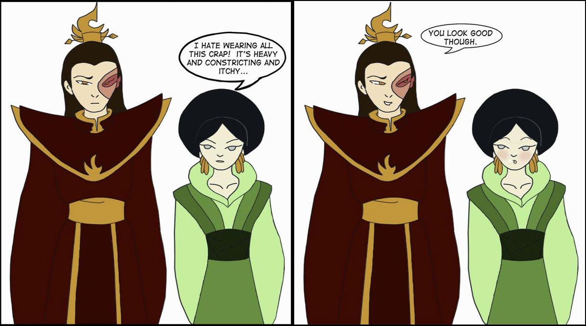 last and katara aang the Avatar airbender