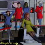Star Trek - USS Minerva's Senior Officers