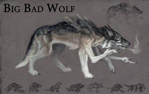 Big Bad Wolf by faxtar