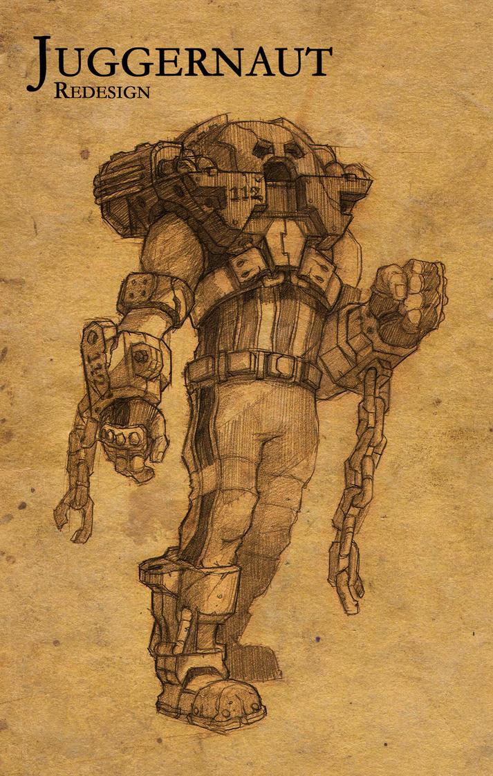 Juggernaut Redesign by faxtar