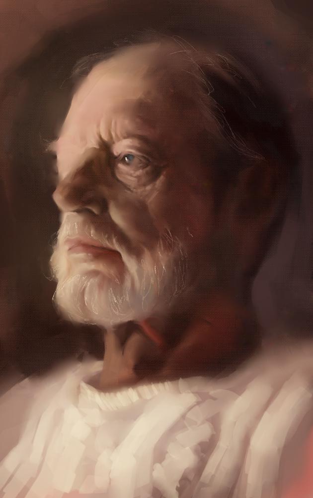 Portrait Study by faxtar