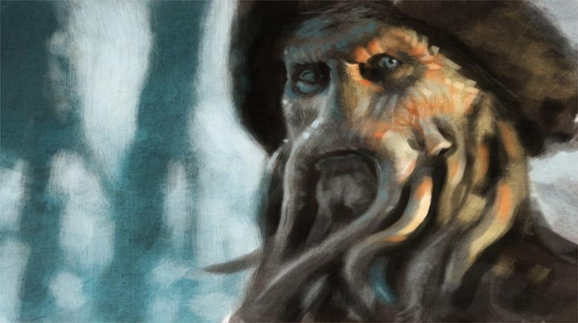 Davy Jones by faxtar