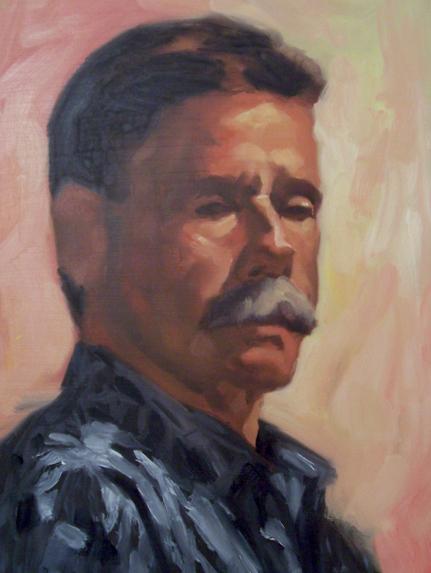 Oil Portrait 2 by faxtar