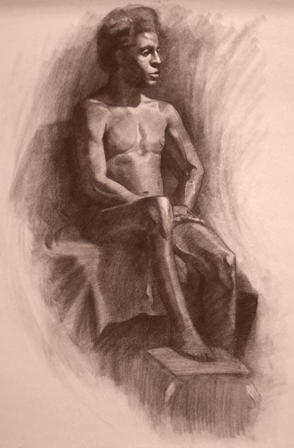 Life Drawing 10 by faxtar