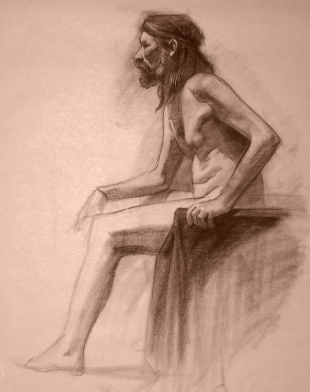 Life Drawing 12 by faxtar