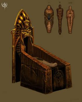 Embalming Chamber Fixture