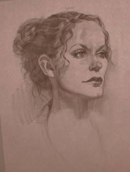 Portrait Life Drawing 13