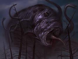 Shrub-Niggurath by faxtar