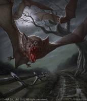Vampire Bats by faxtar