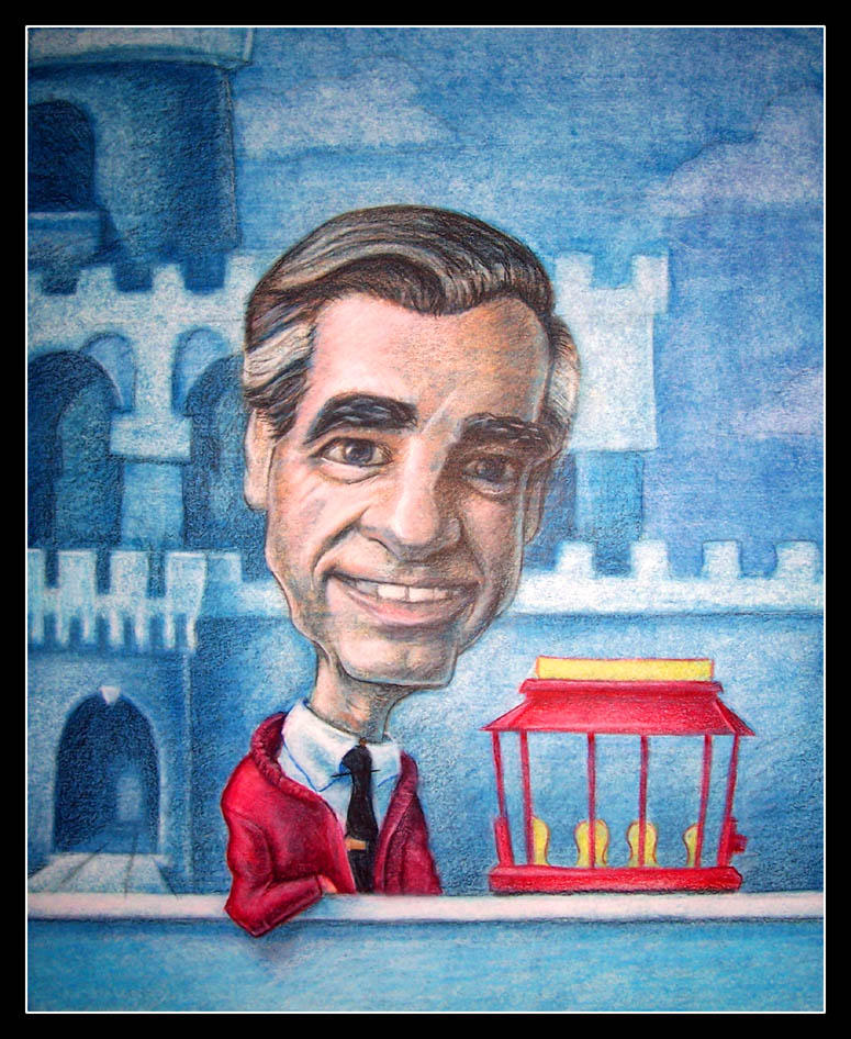 Mister Rogers by faxtar