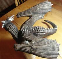 dragonheart Draco wings WIP