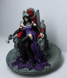Vampire Queen Coloured Wip