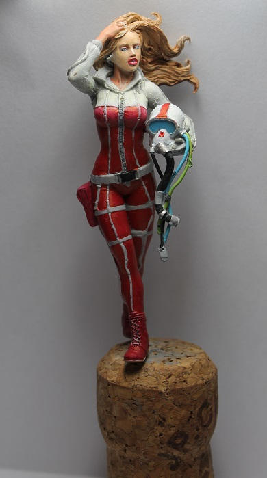 70mm resin figure Red Ace (WIP)
