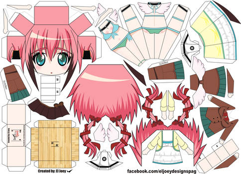 Ikaros Papercraft by ELJOEYDESIGNS