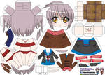 Yuki Nagato papercraft